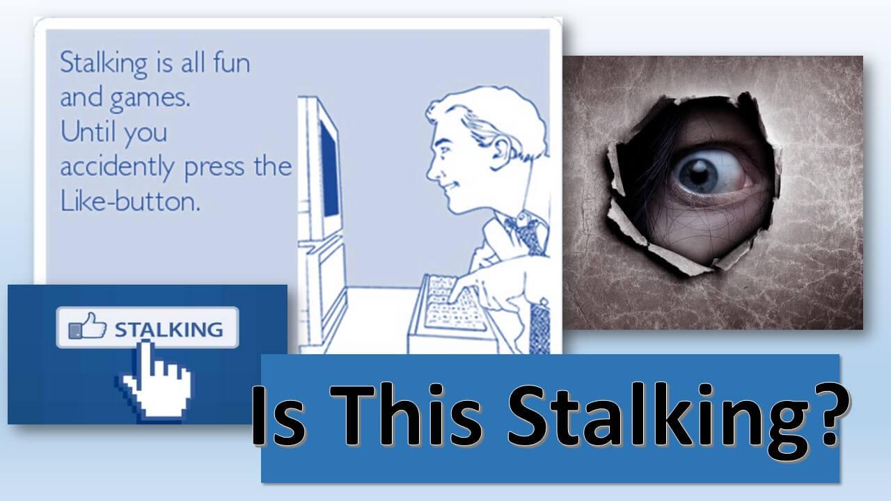 Image result for stalking social media