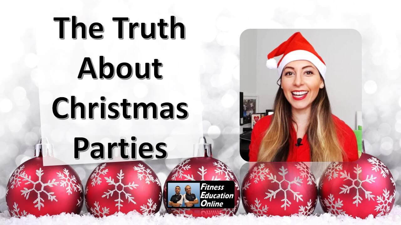 The Truth About Christmas.The Truth About Xmas Parties